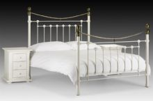 White Vivienne Single Bed